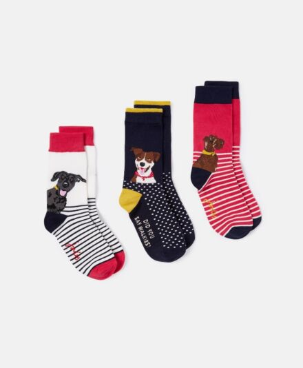 Joules Brilliant Bamboo 3Pack Multi Dogs