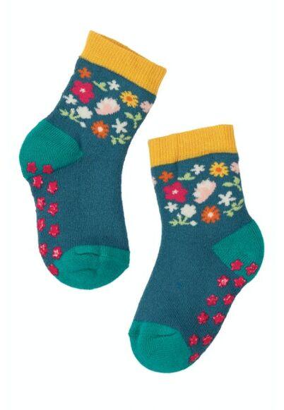 Frugi Grippy Socks 2 Pack Duck Multipack