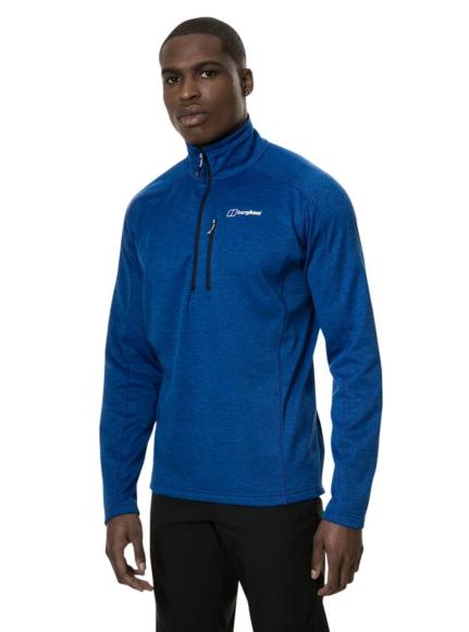 Berghaus Men's Spitzer Half Zip Fleece Blue