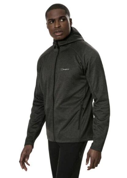 Berghaus Men's Spitzer Hooded Interactive Jacket Black/Grey