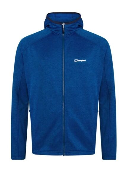 Berghaus Men's Spitzer Hooded Interactive Jacket Blue