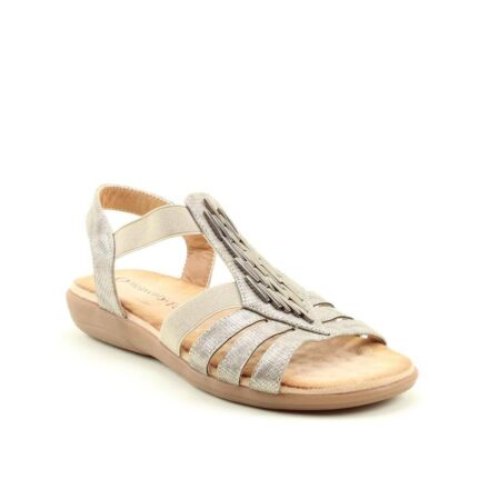 Heavenly Feet Agneta Sandals Stone