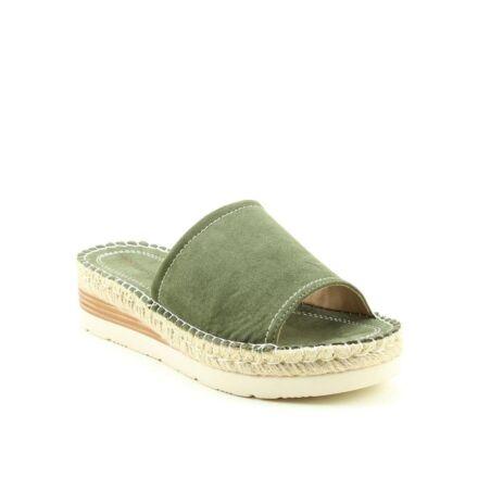 Heavenly Feet Bella Open Toe Sandal Khaki