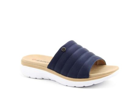 Heavenly Feet Spring Sandals Navy