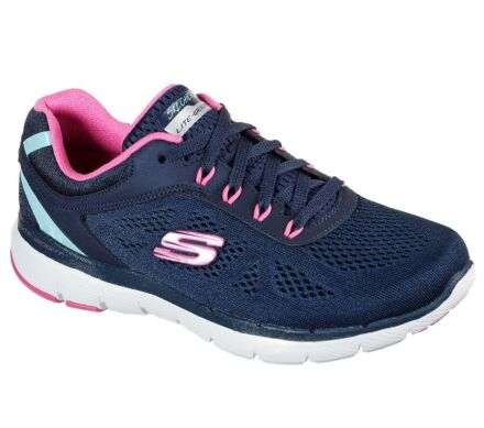 Skechers Flex Appeal 3.0 - Steady Move Navy/Pink