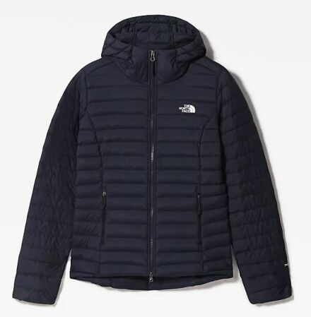 The North Face Women's Stretch Down Hoodie Aviator Navy