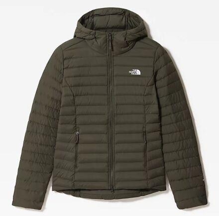 The North Face Women's Stretch Down Hoodie New Taupe Green