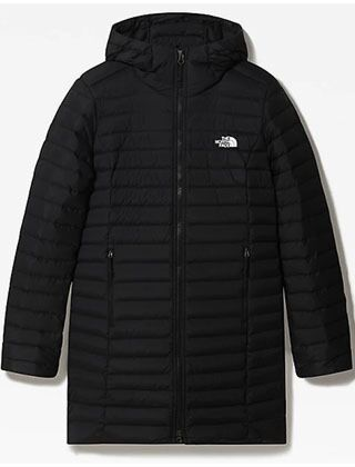 The North Face Women's Stretch Down Parka Jacket Black