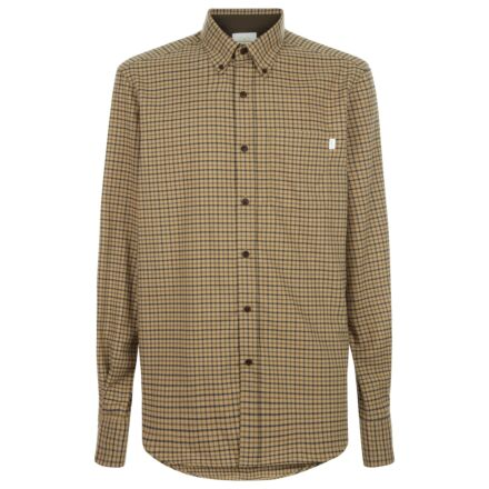 Le Chameau Men's Swinbrook Shirt Mustard Check