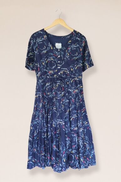 Mistral Swirling Fishes Dress Multi