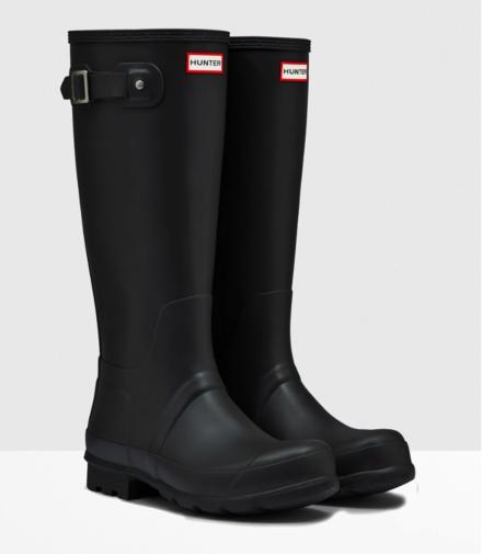 Hunter Men's Original Tall Boot Black