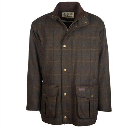 Barbour Woolsington Wool Jacket Olive Classic