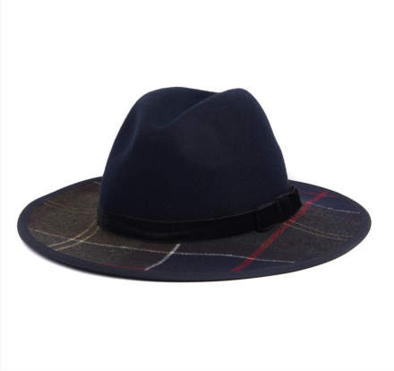 Barbour Thornhill Fedora Navy/Classic