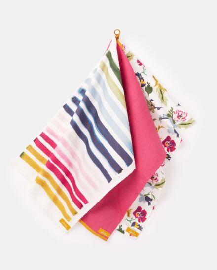 Joules 3 Pack Tea Towel