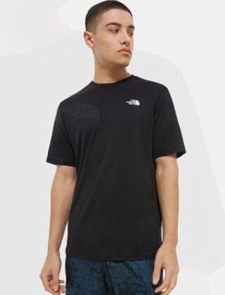 The North Face Foundation Left Logo T-Shirt Black
