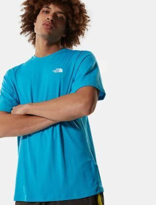 The North Face Foundation Left Logo T-Shirt Meridian Blue