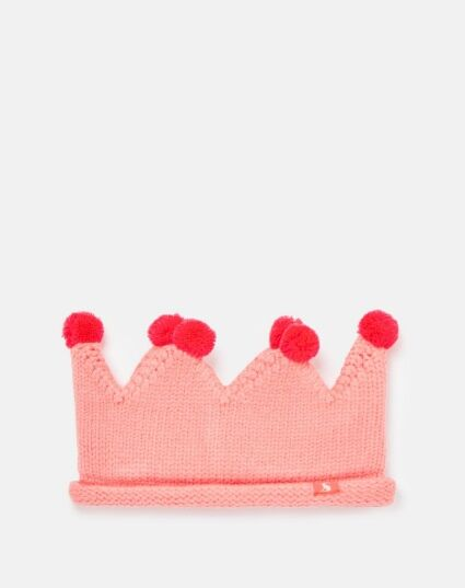 Joules Thora Knitted Crown Headband Just Blush