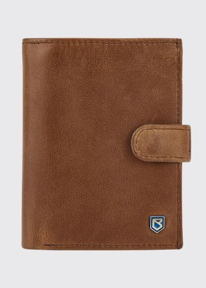 Dubarry Thurles Slim Leather Wallet Chestnut