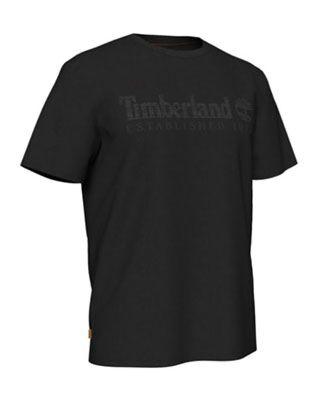 Timberland Linear Tee Black