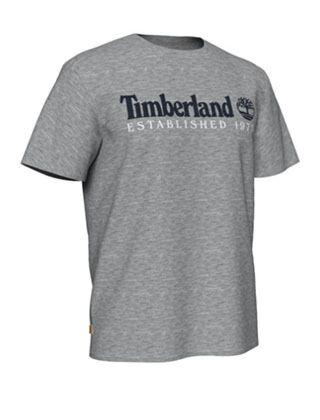 Timberland Linear Tee Grey Heather
