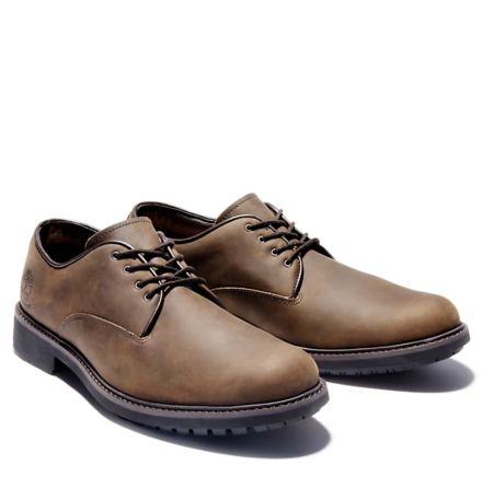 Timberland Stormbucks Plain Toe Oxford Shoe Dark Brown