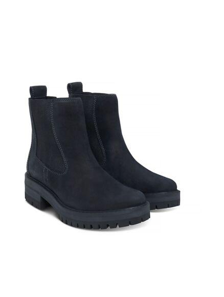 Timberland Women's Courmayeur Valley Chelsea Boot Black