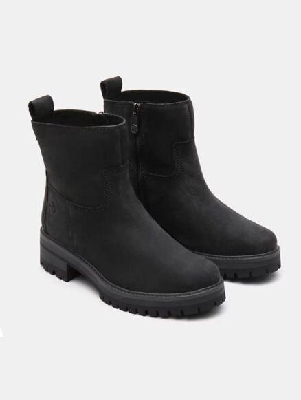 Timberland Women's Courmayeur Valley Faux Fur Boot Black