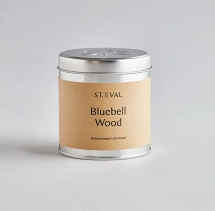 St Eval Scented Tin Candle Bluebell Wood