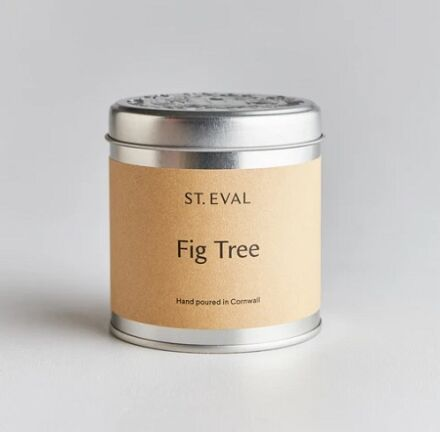 St Eval Scented Tin Candle Fig Tree