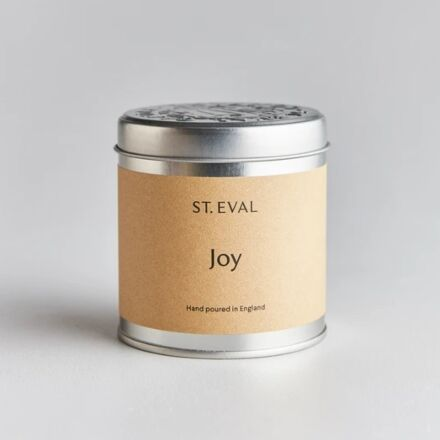 St Eval Scented Tin Candle Joy