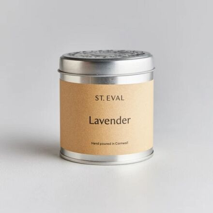 St Eval Scented Tin Candle Lavender
