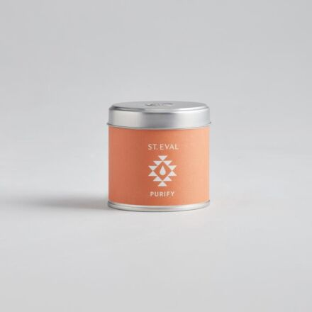 St Eval Purify Retreat Tin Candle