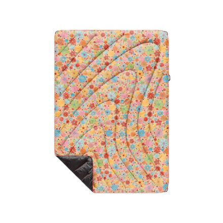 Rumpl Original Printed Puffy Blanket Dots & Daisies