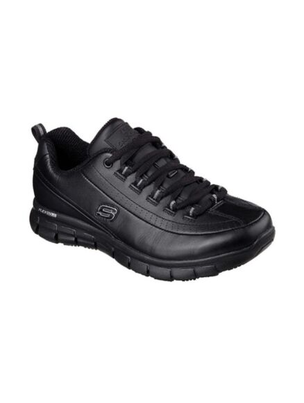 Skechers Work Relaxed Fit: Sure Track - Trickle Black