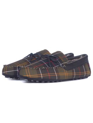 Barbour Tueart Slippers Recycled Classic Tartan