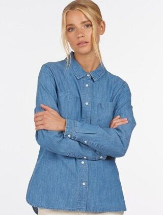Barbour Tynemouth Shirt Authentic Indigo