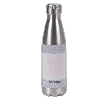 Barbour Tartan Water Bottle Pink/Grey Tartan
