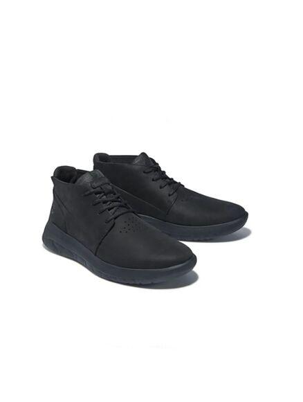 Timberland Bradstreet Ultra Chukka Boot Mono Black/Black Sole