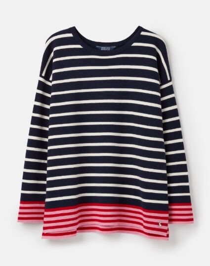 Joules Uma Boat Neck Jumper French Navy