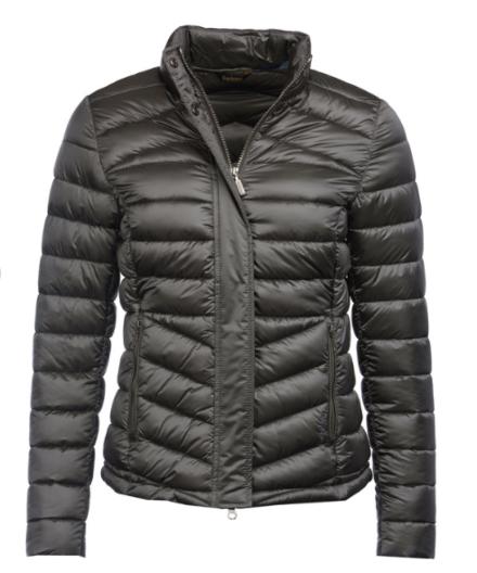 Barbour Vartersay Quilted Jacket Ash Grey