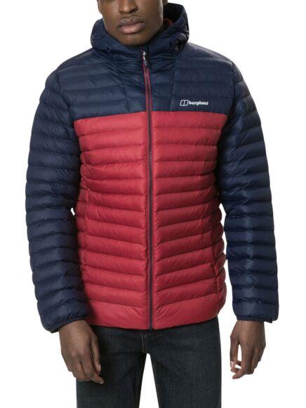 Berghaus Men's Vaskye Insulated Jacket Dark Red/Dark Blue