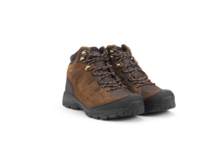 Aigle Men's Vedur Midsole Waterproof Walking Boot Dark Brown