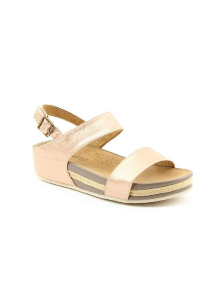 Heavenly Feet Vicky Sandals Rose Gold