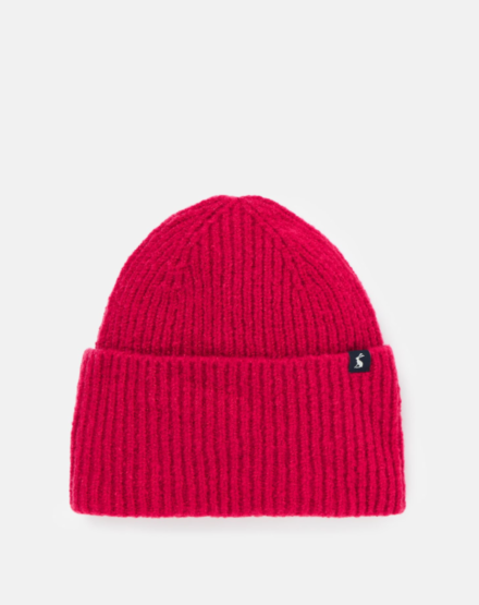 Joules Vinnie Knitted Hat Pink