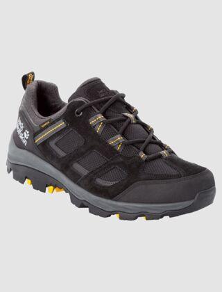 Jack Wolfskin Vojo 3 Texapore Low Hiking Shoes Black/Yellow