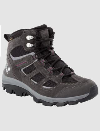 Jack Wolfskin Women's Vojo 3 Texapore Mid Boots Dark Steel/Purple