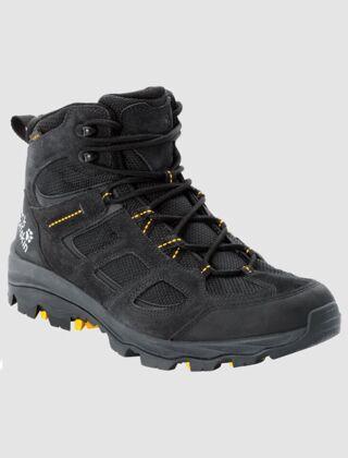 Jack Wolfskin Vojo 3 Texapore Mid Hiking Boots Black/Yellow
