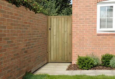 Forest Garden Vertical Tongue & Groove Gate 6ft