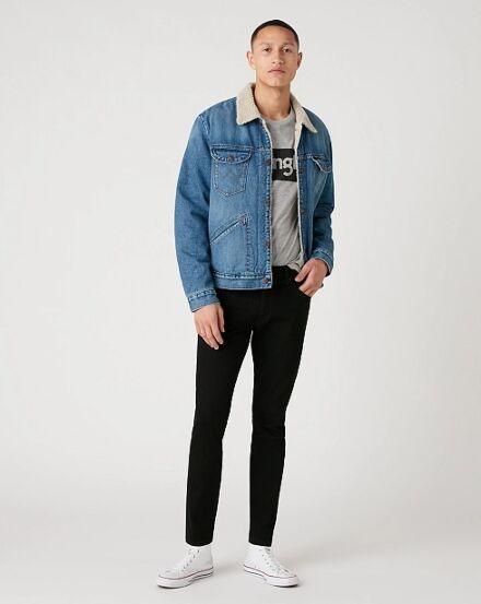 Wrangler Men's Larston Jeans Black Valley