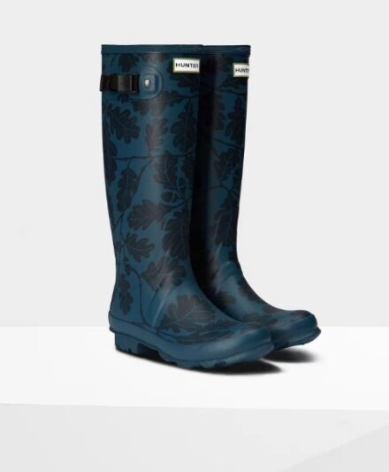 Hunter Women's National Trust Print Norris Field Boots Dusk